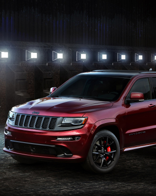 Jeep Grand Cherokee SRT 2016 Picture for Nokia Asha 311