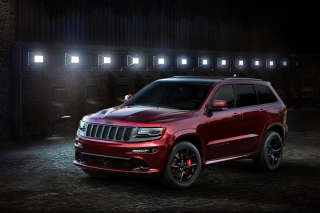 Jeep Grand Cherokee SRT 2016 sfondi gratuiti per Samsung I9080 Galaxy Grand