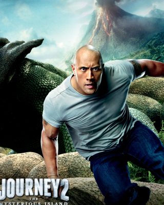 Dwayne Johnson In Journey 2: The Mysterious Island - Obrázkek zdarma pro iPhone 6 Plus