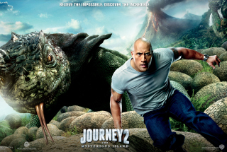 Dwayne Johnson In Journey 2: The Mysterious Island - Obrázkek zdarma pro HTC Wildfire