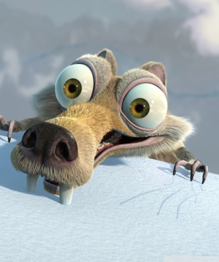Scrat Ice Age Wallpaper for 240x320