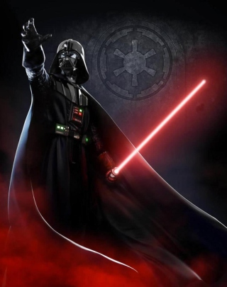 Free Darth Vader Picture for Nokia Asha 311