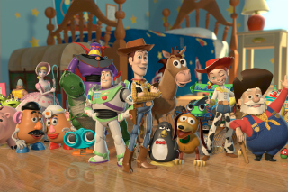 Toy Story Background for Android, iPhone and iPad