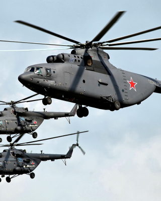 Mi 26 Giant Helicopter Background for 240x320