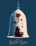 Beauty and the Beast Poster wallpaper 128x160