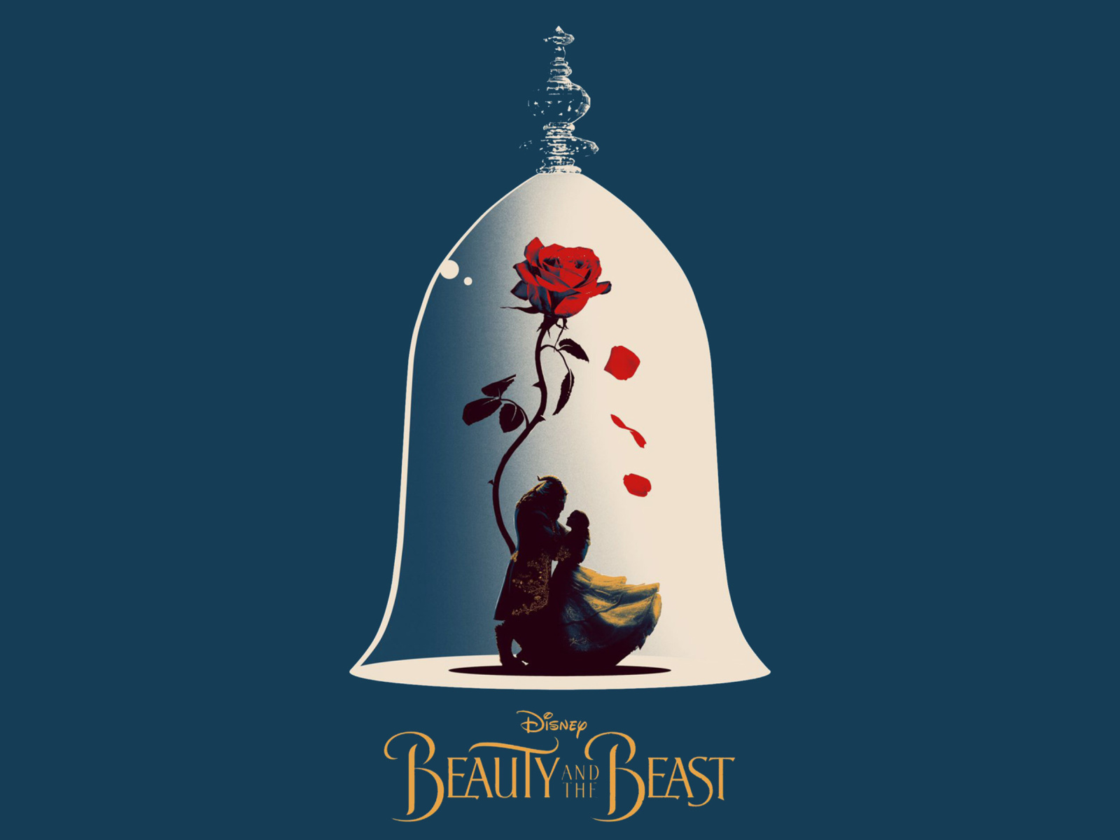 Screenshot №1 pro téma Beauty and the Beast Poster 1600x1200