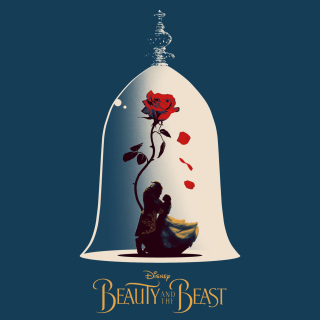 Beauty and the Beast Poster - Obrázkek zdarma pro iPad mini