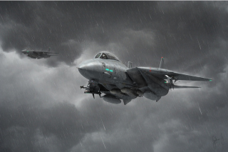 Grumman F 14 Tomcat Interceptor Wallpaper for Android, iPhone and iPad