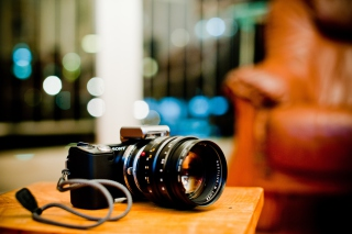 Sony Alpha NEX 5 sfondi gratuiti per cellulari Android, iPhone, iPad e desktop