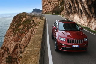 Grand Cherokee SRT8 Background for Android, iPhone and iPad