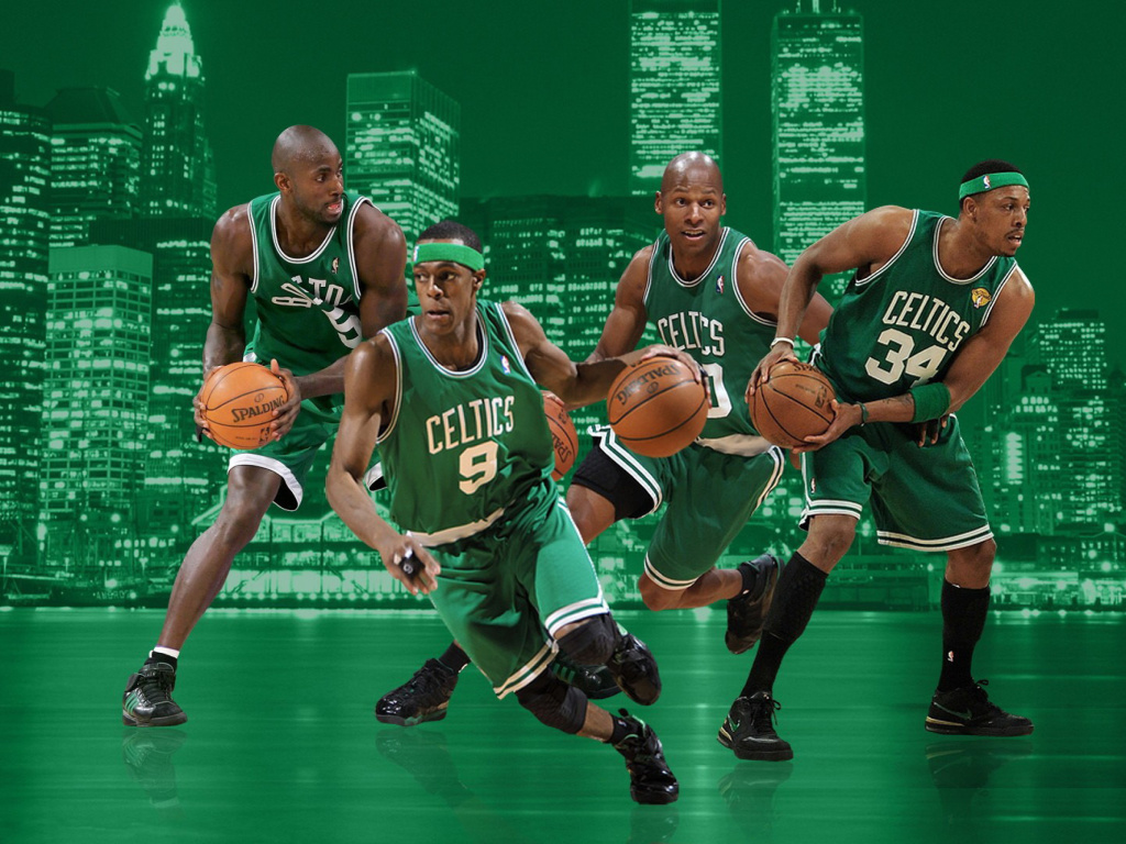 Screenshot №1 pro téma Boston Celtics NBA Team 1024x768