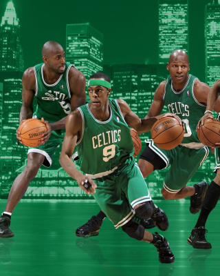 Kostenloses Boston Celtics NBA Team Wallpaper für Nokia C3-01