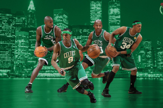 Boston Celtics NBA Team - Obrázkek zdarma pro Widescreen Desktop PC 1920x1080 Full HD