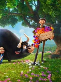 Ferdinand 2017 American 3D Computer Animated Comedy Film screenshot #1 240x320