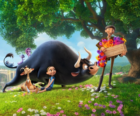Screenshot №1 pro téma Ferdinand 2017 American 3D Computer Animated Comedy Film 480x400