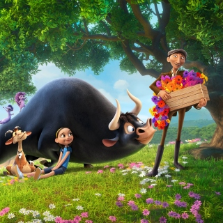 Ferdinand 2017 American 3D Computer Animated Comedy Film Background for iPad
