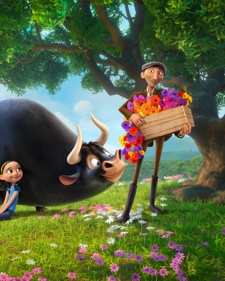 Ferdinand 2017 American 3D Computer Animated Comedy Film sfondi gratuiti per iPhone 6 Plus