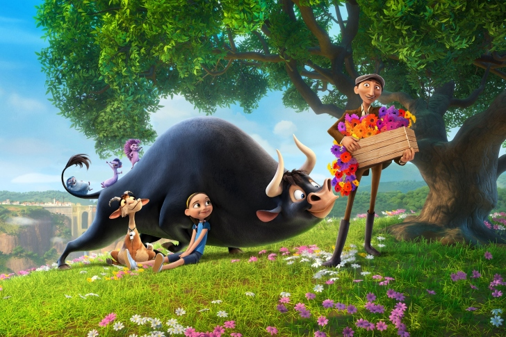 Ferdinand 2017 American 3D Computer Animated Comedy Film wallpaper
