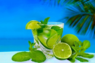 Mojito on Beach Wallpaper for Android, iPhone and iPad
