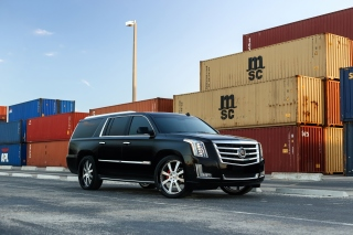 Free Cadillac Escalade Picture for Samsung Galaxy Tab 4