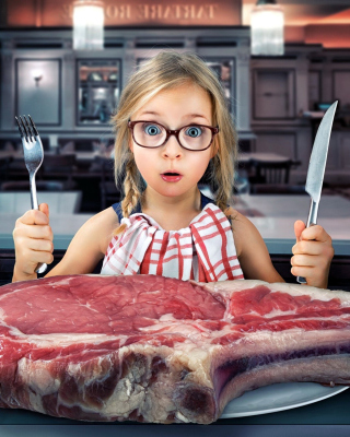 Giant steak - Fondos de pantalla gratis para iPhone 4S