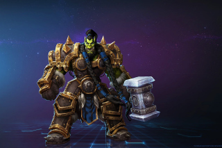 Heroes of the Storm multiplayer online battle arena video game - Obrázkek zdarma pro Desktop Netbook 1366x768 HD