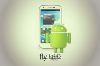Free Fly Iq443 Trend Phone Picture for Android, iPhone and iPad
