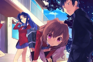 Toradora Novel Wallpaper for Android, iPhone and iPad