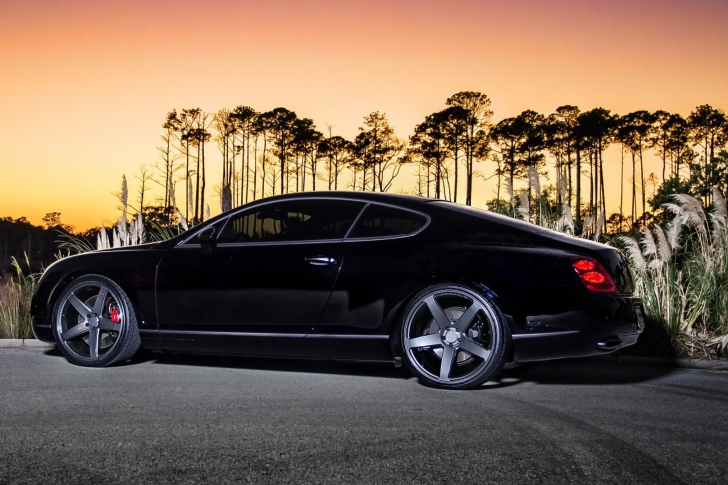 Das Bentley Continental GT Wallpaper