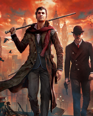 Sherlock Holmes Crimes & Punishments Game sfondi gratuiti per iPhone 6 Plus