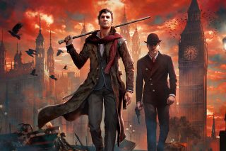Sherlock Holmes Crimes & Punishments Game Background for Android, iPhone and iPad