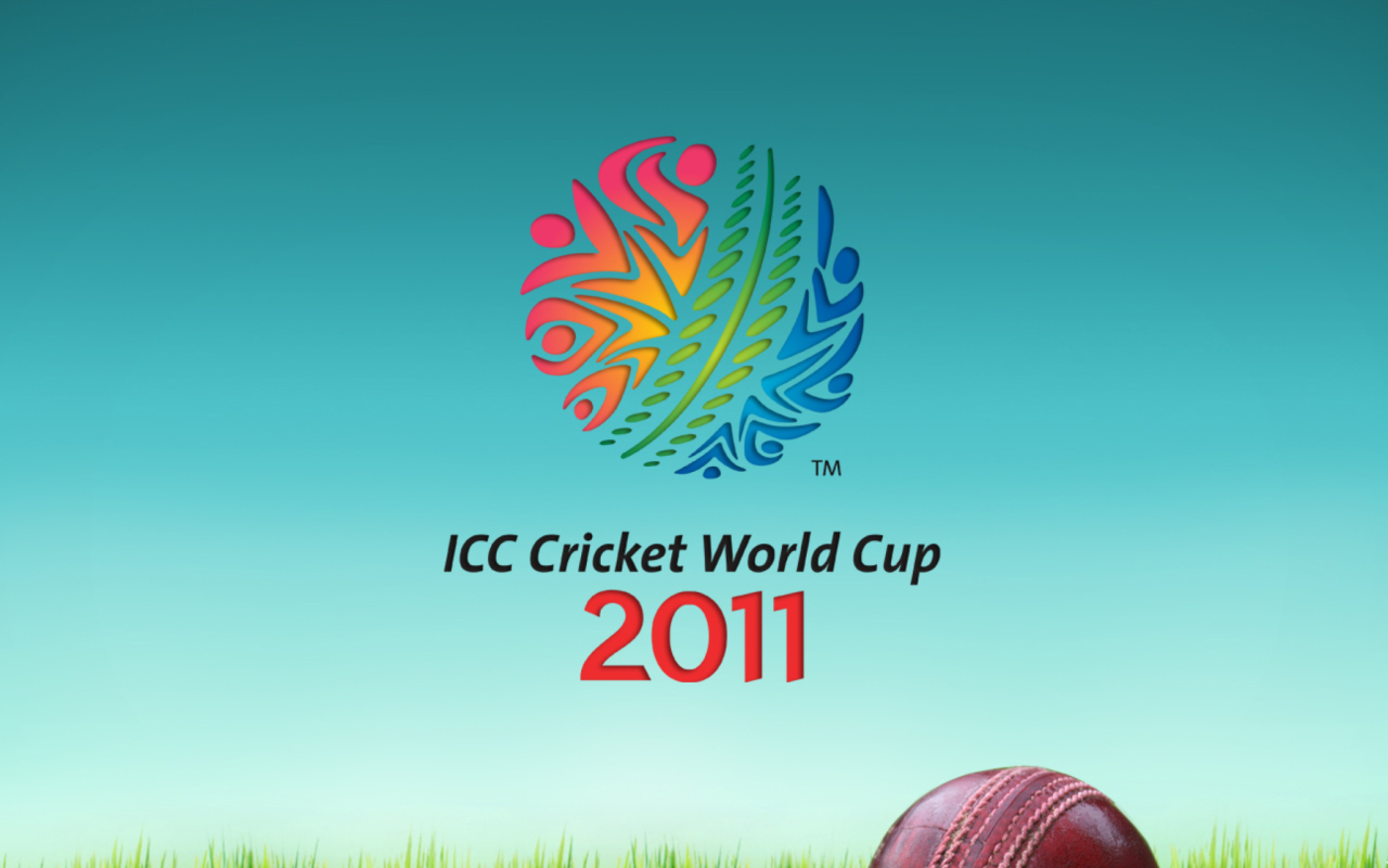 Screenshot №1 pro téma 2011 Cricket World Cup 1280x800