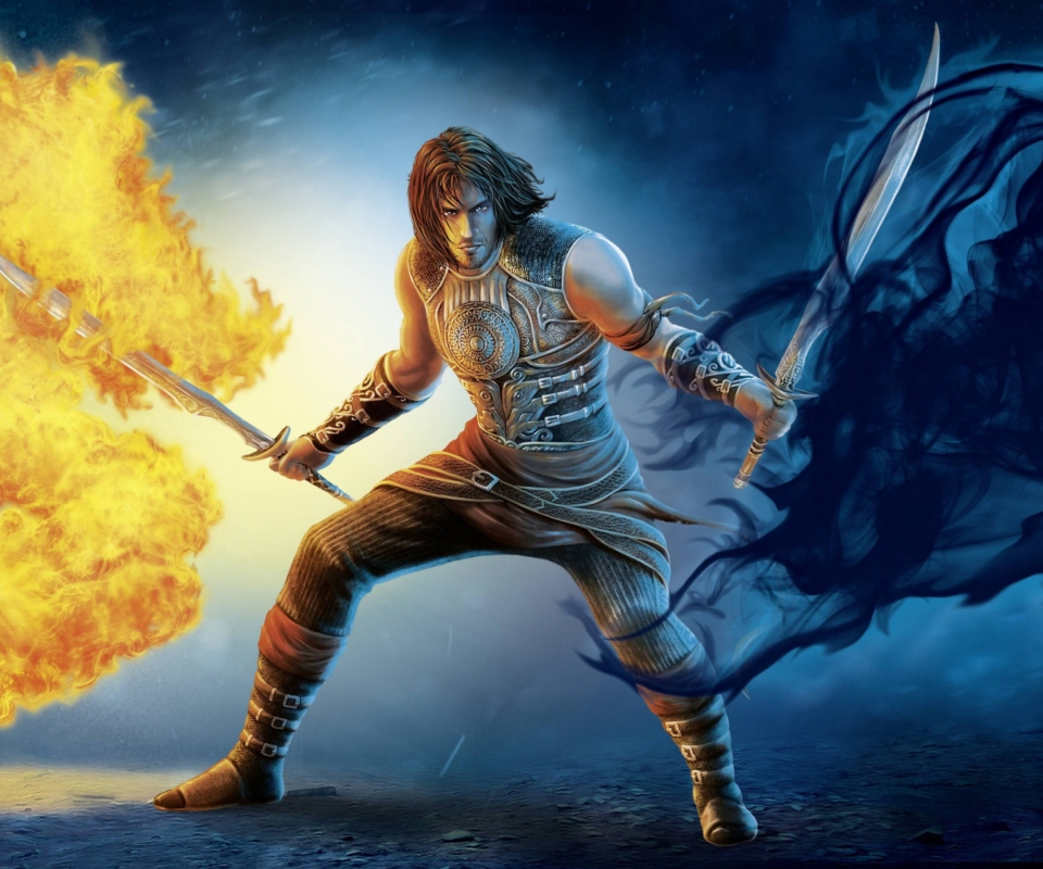 Screenshot №1 pro téma Prince Of Persia 2 Shadow And Flame 960x800