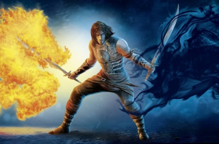 Prince Of Persia 2 Shadow And Flame - Obrázkek zdarma pro Samsung I9080 Galaxy Grand