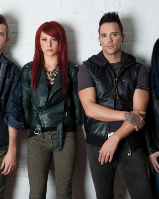 Skillet Music Band Background for 640x1136