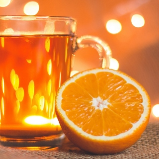 New Year mood with mulled wine sfondi gratuiti per iPad 3