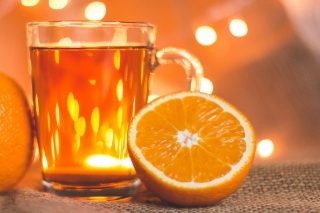 New Year mood with mulled wine Picture for Android, iPhone and iPad