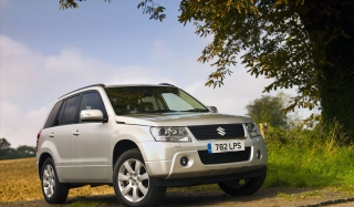 Suzuki Grand Vitara Background for 480x320