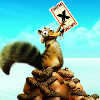 Ice Age Continental Drift Scrat sfondi gratuiti per iPad Air