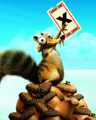 Ice Age Continental Drift Scrat Wallpaper for HTC Titan