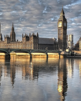 Palace of Westminster in London sfondi gratuiti per Nokia C2-02