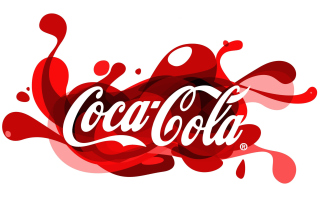 Coca Cola Logo Background for Android, iPhone and iPad