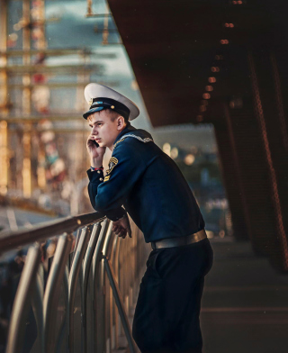 Young Sailor In Uniform Picture for HTC Titan