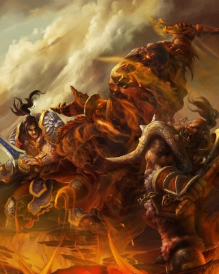 World of Warcraft Battle - Obrázkek zdarma pro iPhone 6