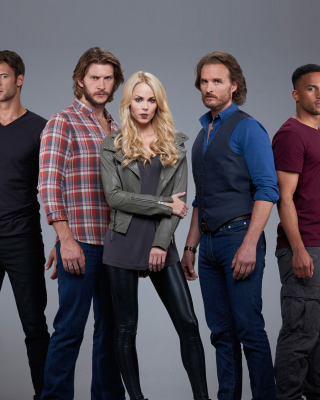 Bitten TV Series Cast Background for HTC Titan