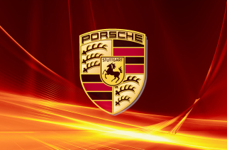 Porsche Logo Wallpaper for Android, iPhone and iPad