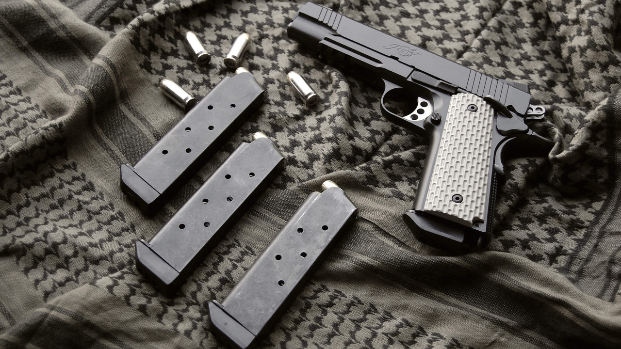 Das Colt Automatic Pistol M1911 Wallpaper 1280x720
