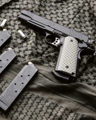 Colt Automatic Pistol M1911 Wallpaper for iPhone 6 Plus