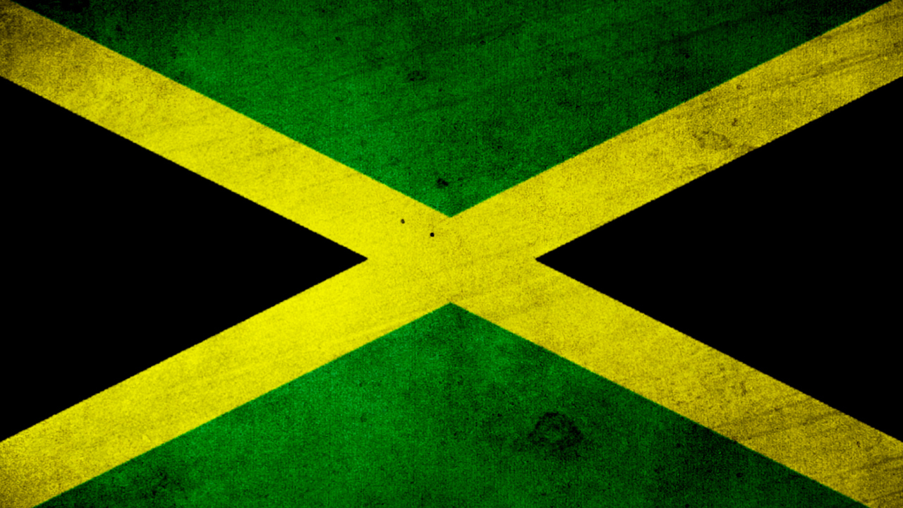 Jamaica Flag Grunge wallpaper 1280x720