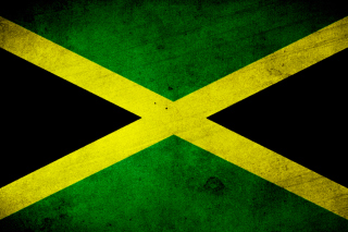 Free Jamaica Flag Grunge Picture for Android, iPhone and iPad